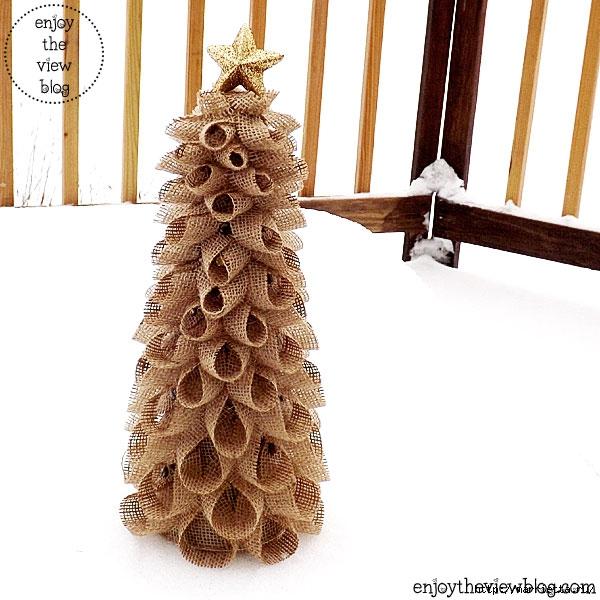 Новогодние елки из мешковины (26) (600x600, 198Kb)