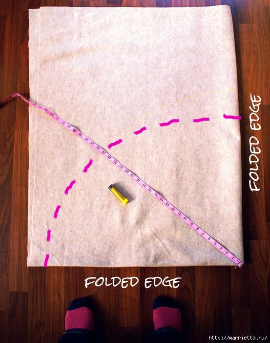 Как сшить юбочку для новогодней елки. Мастер-класс (1) (553x700, 358Kb)