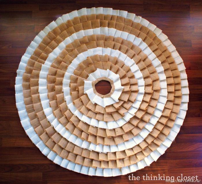 Как сшить юбочку для новогодней елки. Мастер-класс (4) (700x638, 421Kb)