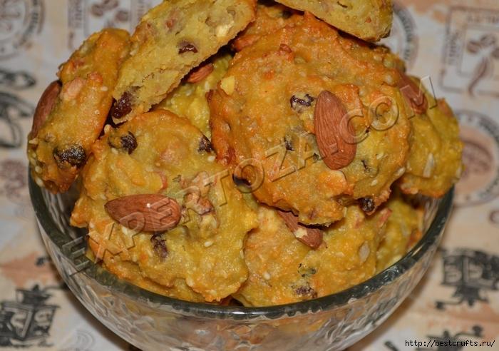 Очень вкусный рецепт творожного печенья с орехами и семечками (1) (700x492, 292Kb)