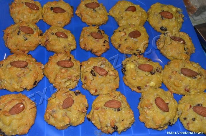 Очень вкусный рецепт творожного печенья с орехами и семечками (27) (700x461, 308Kb)