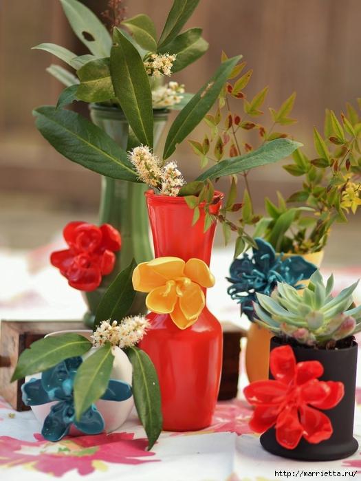 Розы из пластиковых ложек. Видео мастер-класс (7) (525x700, 258Kb)