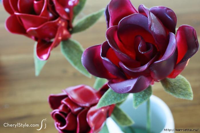 Розы из пластиковых ложек. Видео мастер-класс (9) (700x466, 199Kb)