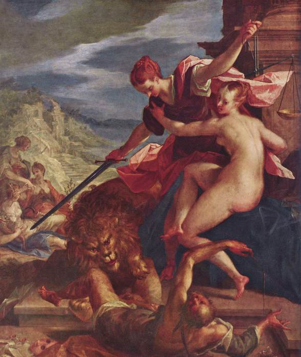 Ханс фон Аахен-Торжество Истины и Справедливости (589x700, 53Kb)
