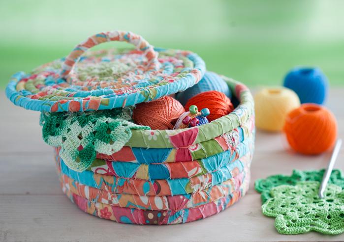 Как сделать корзину для белья своими руками из ткани