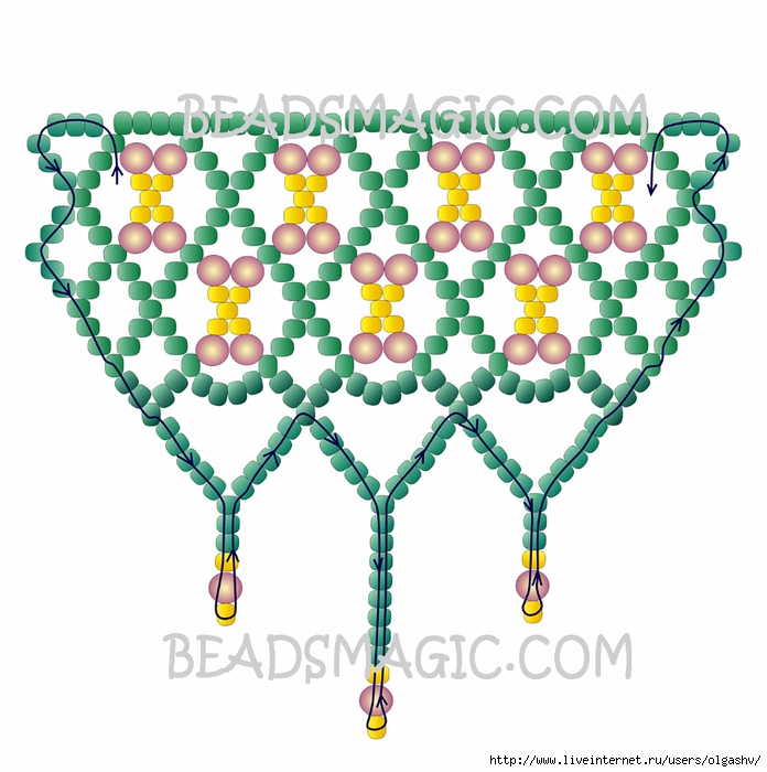 free-beading-tutorial-necklace-2-2 (696x700, 249Kb)
