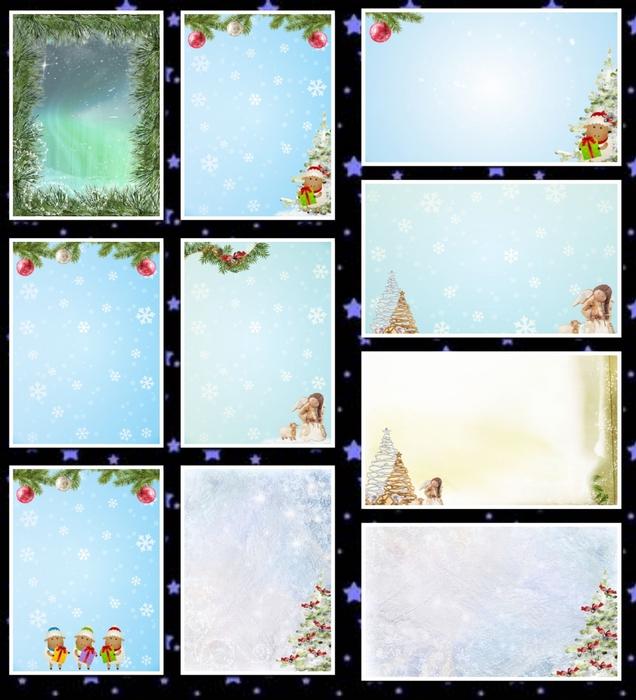 фоны зимние а3-1 (636x700, 280Kb)