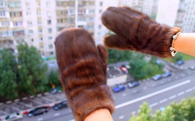 Варежки сшитые своими руками