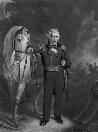 02 _zachary_taylor_with_his_white_horse (335x450, 96Kb)