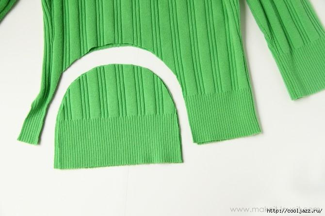 шапочки из свитеров2 (670x446, 139Kb)