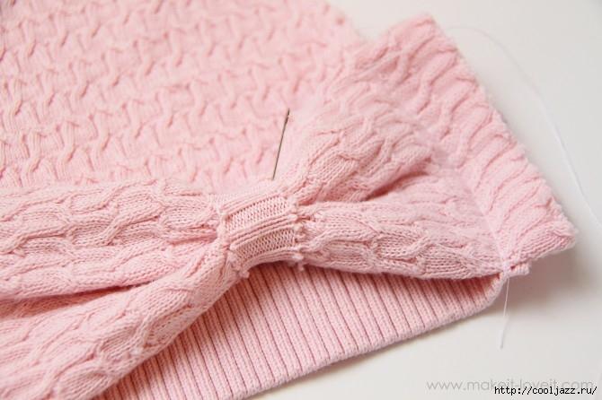 шапочки из свитеров9 (670x446, 172Kb)