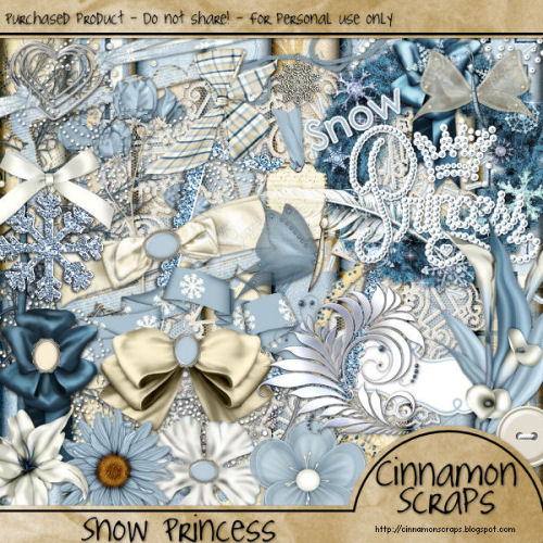 Снежная принцесса обложка2 (500x500, 277Kb)