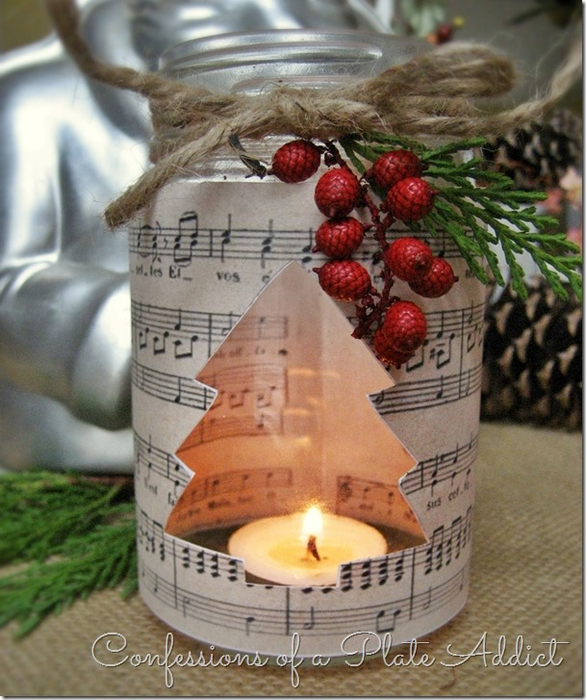 CONFESSIONS OF A PLATE ADDICT French Sheet Music Christmas Candles 2_thumb[8] (586x700, 433Kb)