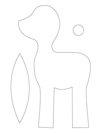 выкройка олененка бэмби (2) (333x431, 19Kb)