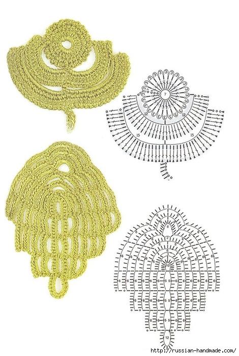 схемы листиков крючком (43) (470x700, 229Kb)
