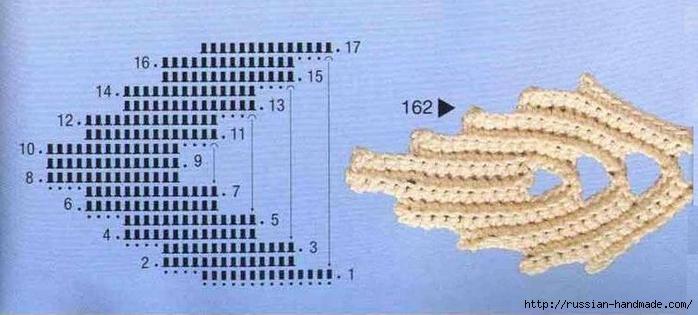 схемы листиков крючком (60) (700x315, 167Kb)