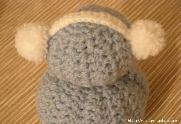 Вязание забавных снеговиков крючком (12) (593x406, 121Kb)