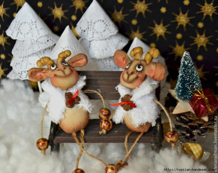 Новогодняя кофейная овечка - шьем сувенир к Новому году (2) (700x555, 309Kb)