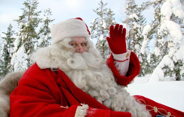 4.  Йоулупукки - финский Дед Мороз (700x444, 329Kb)