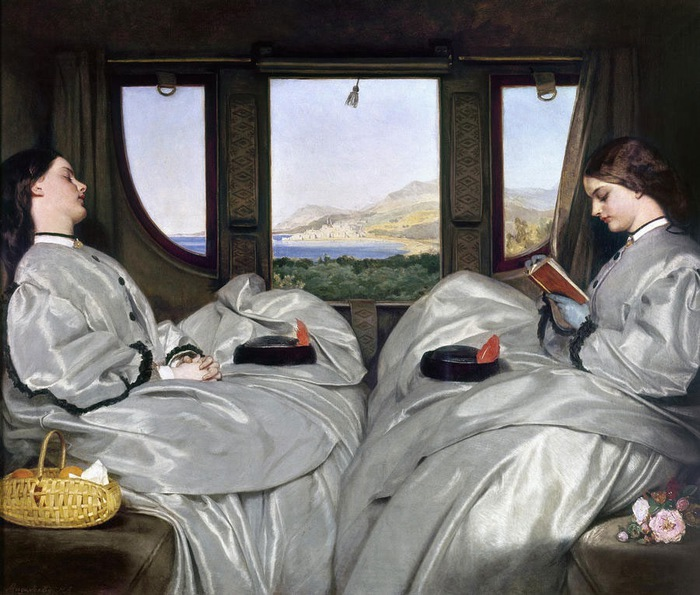 the-travelling-companions-1862-augustus-leopold-egg-english-painter (700x595, 134Kb)