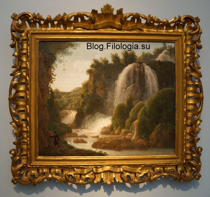 Сильвестр Щедрин. Водопады в Тиволи. (700x656, 79Kb)