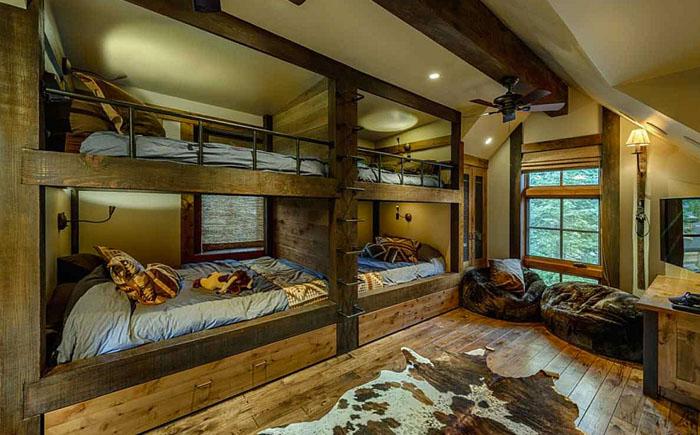 красивый деревянный дом 9 (700x435, 323Kb)