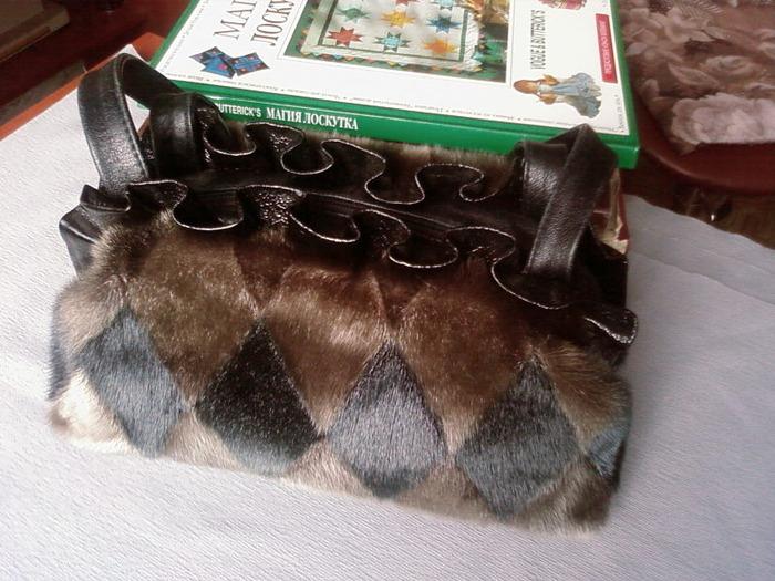 Сшить сумку из старой дубленки своими руками