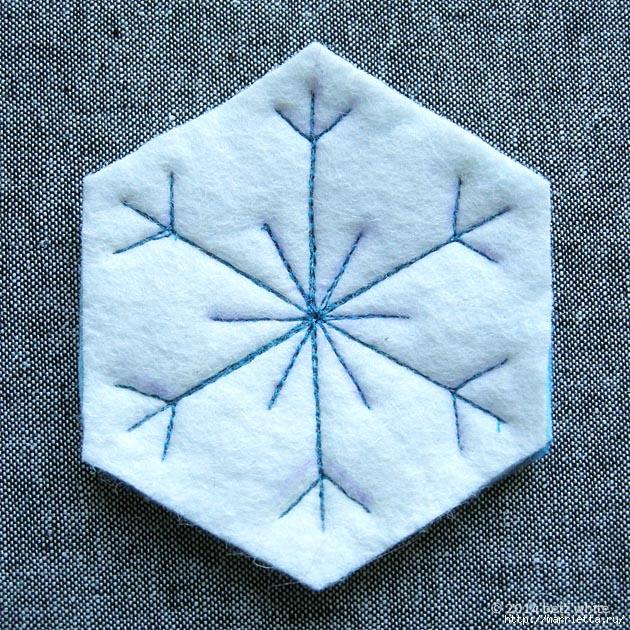 Снежинки из фетра. Шьем сами (6) (630x630, 398Kb)