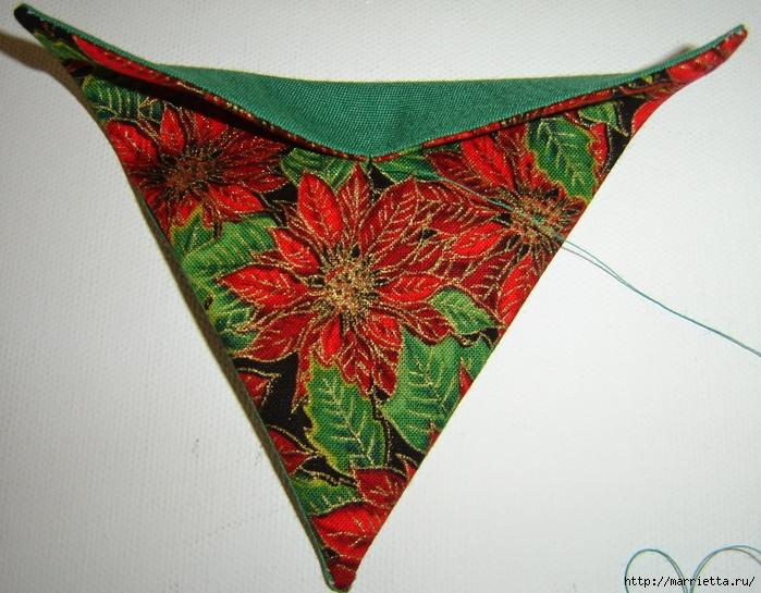 текстильная подвеска елочка в технике оригами (10) (700x545, 310Kb)