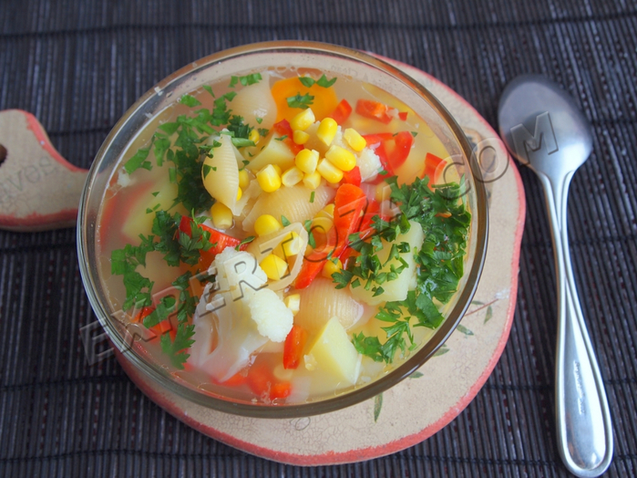 Рецепт вкусного итальянского овощного супа МИНЕСТРОНЕ (700x524, 435Kb)
