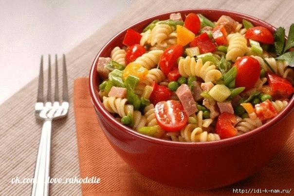 салаты на каждый день, вкусные салаты на каждый день Хьюго Пьюго, рецепты салатов на каждый день,