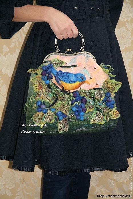Сказочные сумки в технике валяние от Екатерины Тасминской (9) (466x700, 295Kb)
