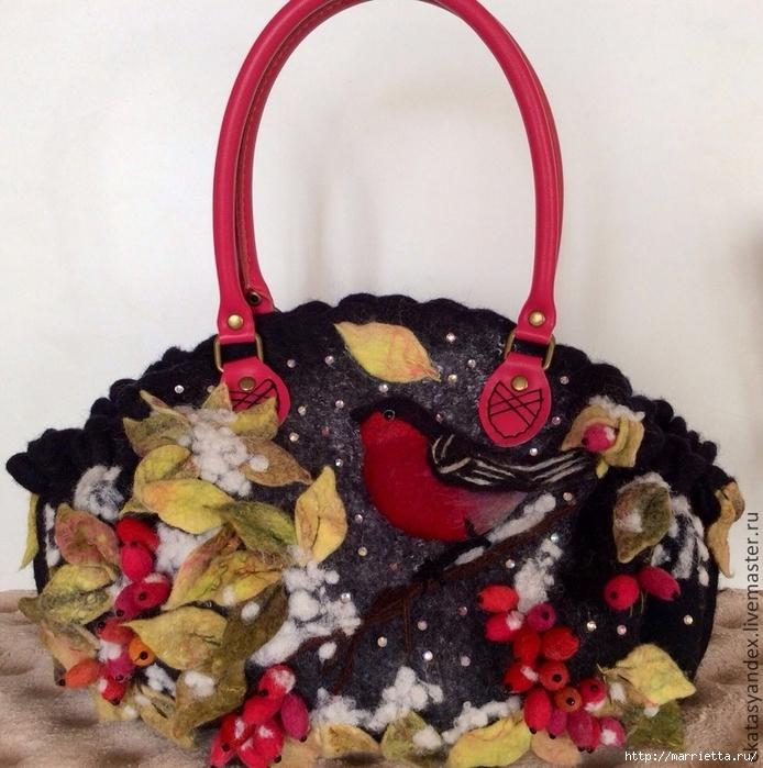 Сказочные сумки в технике валяние от Екатерины Тасминской (14) (694x700, 353Kb)