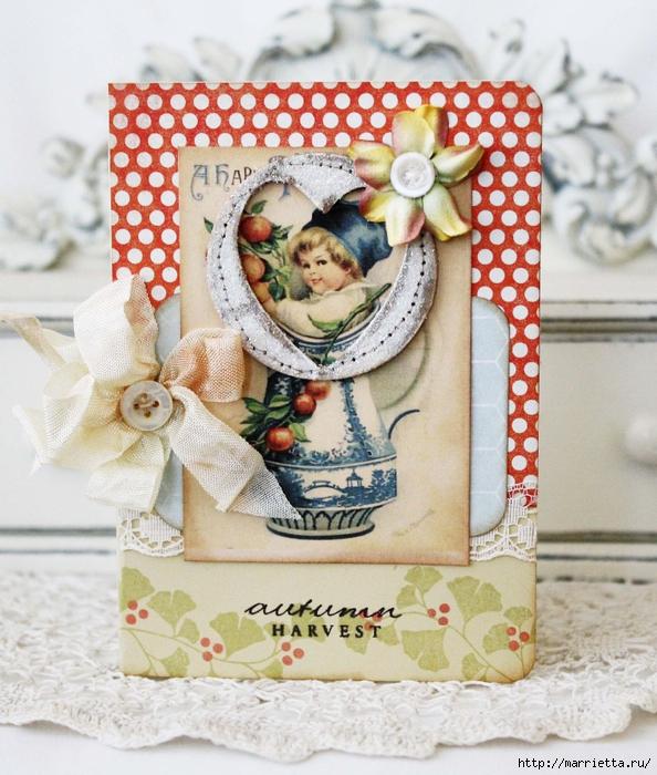 пуговицы для создания новогодних открыток и украшений (8) (594x700, 359Kb)