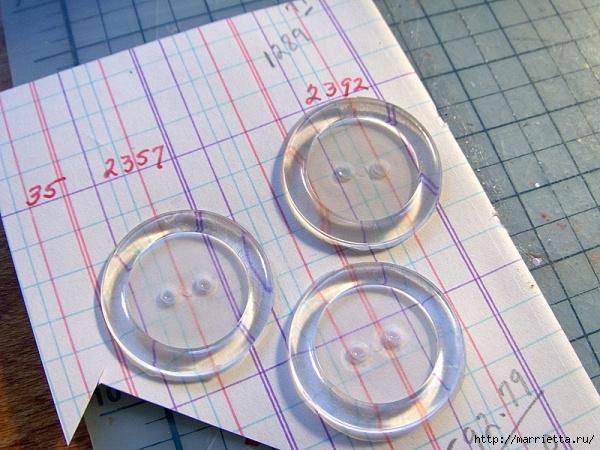пуговицы для создания новогодних открыток и украшений (46) (600x450, 226Kb)