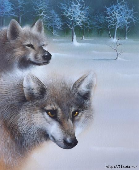 Wolves (450x550, 149Kb)