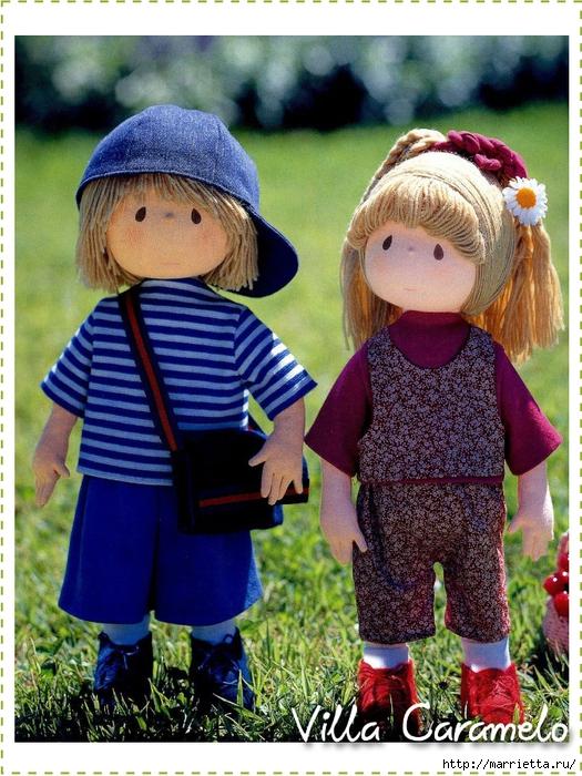 Шьем ростовую куклу мастер класс своими руками #10