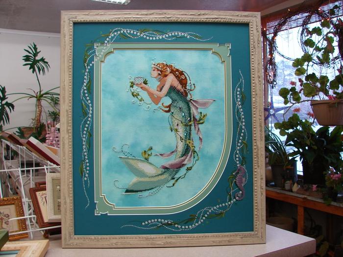 Lori Curtis Queen Mermaid (7) (700x525, 475Kb)