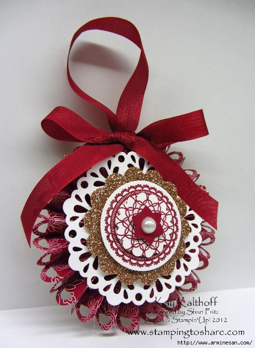 220 Stampin' Up! Delicate Doilies Ornament (512x700, 301Kb)