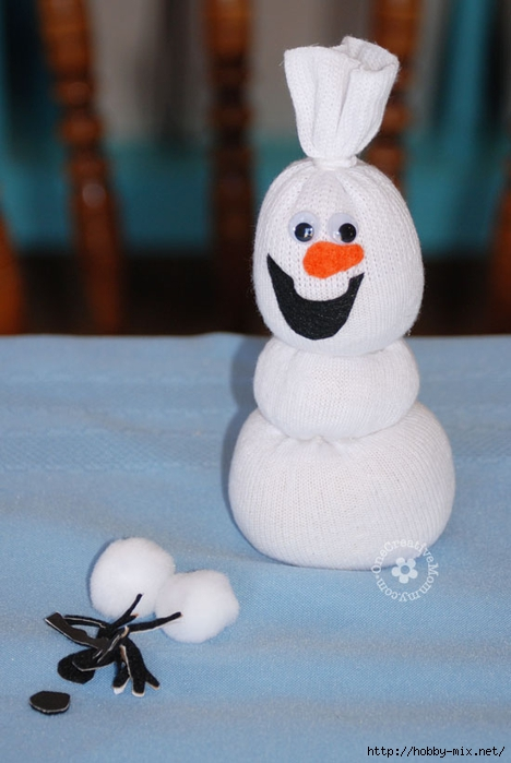 olaf-sock-snowman-decorate (468x700, 187Kb)