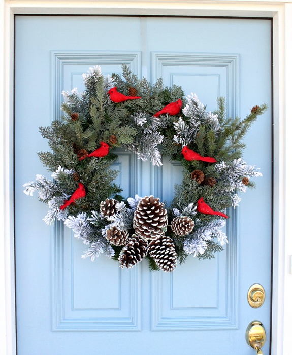 How-to-Make-a-Simple-Christmas-Wreath (575x700, 404Kb)