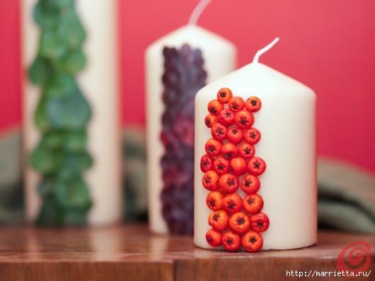 Декорируем свечи осенними дарами природы (1) (530x398, 88Kb)