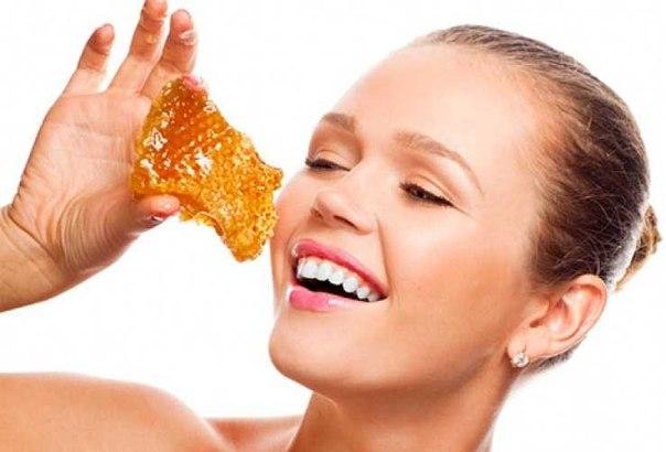 Маски для лица с медом (604x410, 38Kb)
