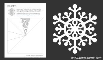 шаблоны снежинок из бумаги (1) (340x200, 5Kb)