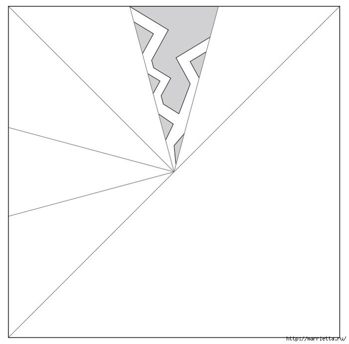 шаблоны снежинок из бумаги (4) (700x690, 65Kb)