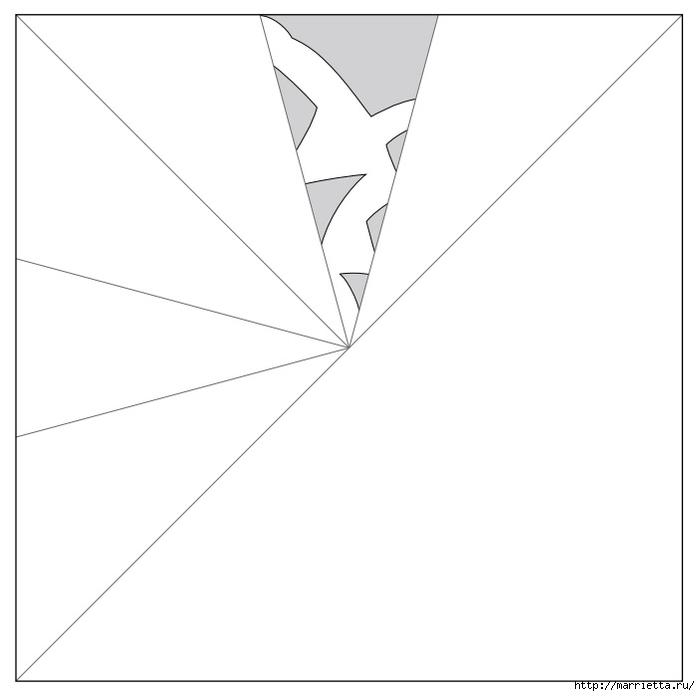 шаблоны снежинок из бумаги (9) (700x696, 60Kb)