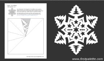 шаблоны снежинок из бумаги (11) (340x200, 5Kb)