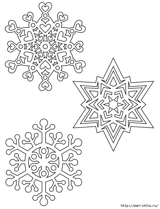 шаблоны снежинок из бумаги (19) (513x669, 170Kb)