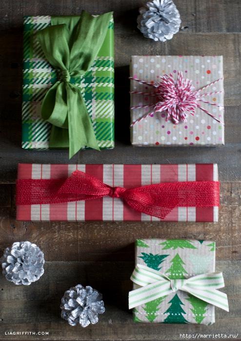 Шаблоны бумаги для упаковки новогодних подарков (1) (494x700, 318Kb)