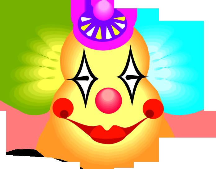 Маски клоунов своими руками